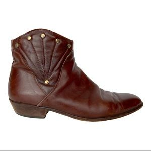 Vintage Men's Leather Ankle Boot 9